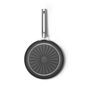 Smeg 28cm Black 50's Style Frypan - CKFF2801BLM