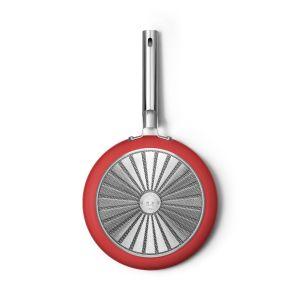Smeg 28cm Red 50's Style Frypan - CKFF2801RDM
