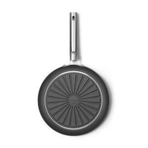 Smeg 30cm Black 50's Style Frypan - CKFF3001BLM
