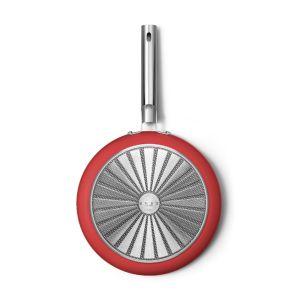 Smeg 30cm Red 50's Style Frypan - CKFF3001RDM