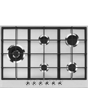 Smeg 72.5cm Stainless Steel Gas Hob - PX375LSA
