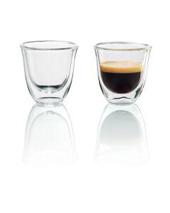 De'Longhi Double Walled Espresso Glasses