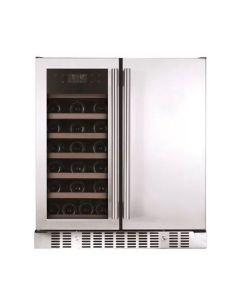 Snomaster Double door Wine Cooler - VT-19 PRO