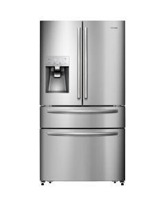 Hisense 516L Silver Side By Side French Door Fridge - H701FS-ID