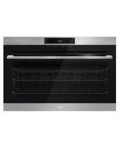 AEG 90cm Eye Level Oven - BEK722910