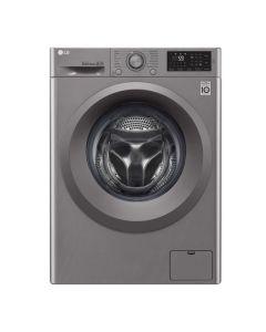 LG 9kg Silver Front Loader Washing Machine - F4J5VYP7SP