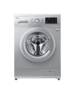 LG 7kg Luxury Silver Front Loader Washing Machine - FH0J3HDNP5P