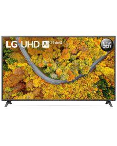 "LG 190cm (75"") UP7550 4K UHD Smart AI ThinQ TV - 75UP7550PVC"