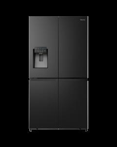 Hisense 541Lt French Door Refrigerator - H750FSB-ID+ Free 95L White Chest Freezer