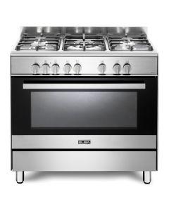 Elba 90cm Gas/Electric Oven 5 Burner + Free Griddle - 01/9CX827NN